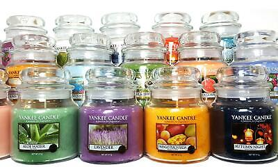 Yankee Candle Medium Jar New Fragrances Plus FREE Votive  Free P&P - Mum Auntie • 17.99£