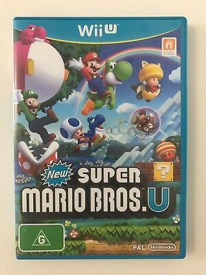 AU34.90 • Buy New Super Mario Bros U Wii U Wiiu Game *aus Version Aus Seller* *free Shipping*