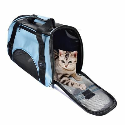 View Details Oxford Cat Carrier Pet Bag Soft Dog Comfort Travel Tote Bag Travel Approved • 111.00£