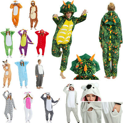 AU61.26 • Buy Unisex Adult Kigurumi Animal Character Costume 1Onesie1 Pyjamas Fancy Dress