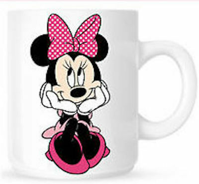 Personalised Minnie Mouse Birthday Gift Present White Mug Cup Any Name  • 7.90£