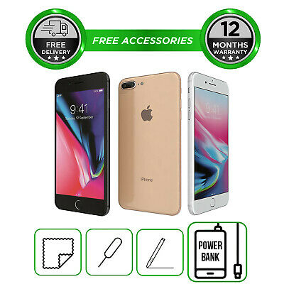 View Details Apple IPhone 8 Plus Smartphone Unlocked 64GB 256GB All Colours  • 459.99£