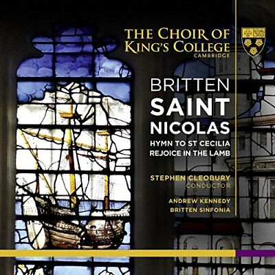 £7.67 • Buy Andrew Kennedy    The Choir Of Kings College Camb - Britten  Saint Nicolas [cd]