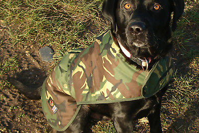 Cotswold Aquarius Canine Quilted Rain Jacket *All Sizes* NEW DPM Camo Dog Coat • 29.99£