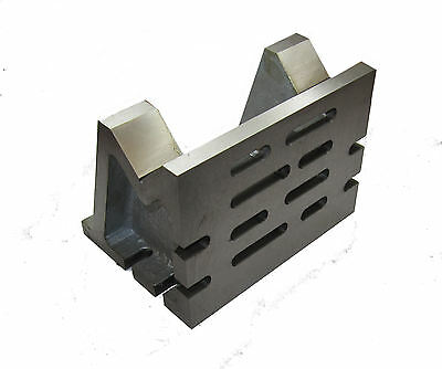 VEE ANGLE PLATE 7 x 5 x 5 FOR MILLING MACHINE ETC FROM CHRONOS