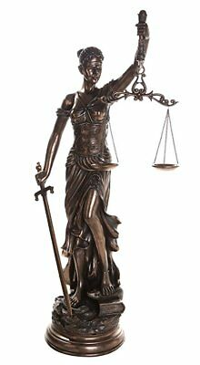 £503.66 • Buy Large 48 Inch Lady Justice Scales Of Justice La Justitia Statue Lawyer Attorney