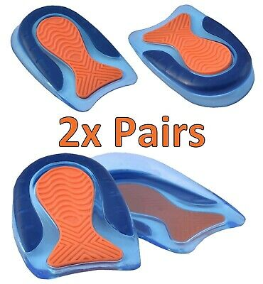 £6.89 • Buy Gel Shoe Inserts Insoles Orthotic Arch Support Foot Heel Cups Plantar Fasciitis