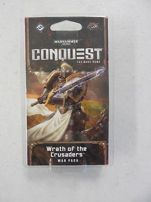 AU12.86 • Buy WH40K CONQUEST - WRATH OF THE CRUSADERS War Pack WHK13 NEW + SEALED!!! FFG GW