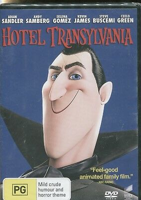 AU14.95 • Buy HOTEL TRANSYLVANIA -  Adam Sandler, Kevin James, Andy Samberg  - DVD
