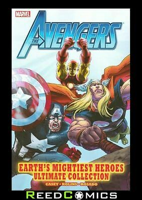 AVENGERS EARTHS MIGHTIEST HEROES ULTIMATE COLLECTION GRAPHIC NOVEL (376 Pages) • 14.99£