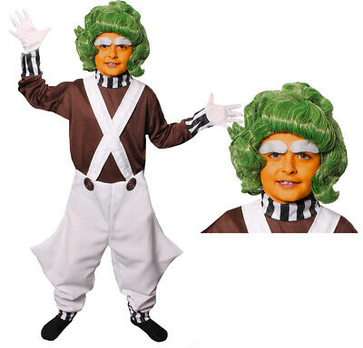 £13.99 • Buy Kids Factory Worker Costume And Wig World Book Day Fancy Dress Outfit Boys Girls