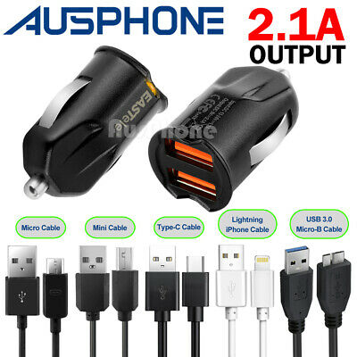 AU5.99 • Buy Rapid USB Car Charger For IPhone 12 11 XS Max XR IPad Samsung S9 S10 NOTE 10 20