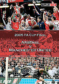 £9.89 • Buy FA Cup Final: 2005 - Manchester United Vs Arsenal DVD (2005) Manchester United