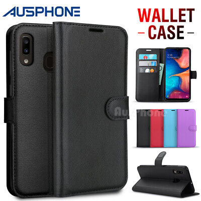 AU7.95 • Buy For Samsung Galaxy A12 A20 A30 J8 J5 J2 Pro Wallet Leather Case Shockproof Cover