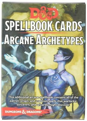 AU41.48 • Buy Dungeons And Dragons Arcane Archetypes Spell Deck Card Game