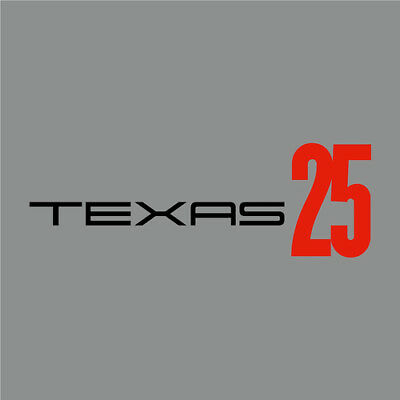 Texas:Texas 25- 12  Red Vinyl & 2xCD- Deluxe Limited Edition (2015) ***NEW*** • 24.98£
