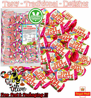 £5.77 • Buy 1 - 1000 Swizzels Mini LOVE HEARTS Sweets Wedding Favours Retro Party Valentines