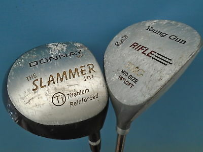 Pre Loved Junior Clubs - Driver - Donnay Slammer- 3 Wood - Rifle Young Gun • 19.99£