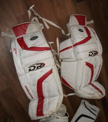 $449.99 • Buy Dr Hockey Goalie Pads & Both Catcher & Blocker Gloves Match Set Pro Quality 32