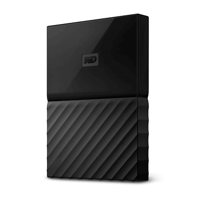 View Details WD My Passport 2TB Black Manufacturer Refurbished Portable Hard Drive By West... • 49.99$