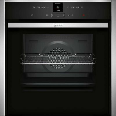 £823 • Buy NEFF B57CR22N0B N70 Slide&Hide® Built In 60cm A+ Electric Single Oven Stainless