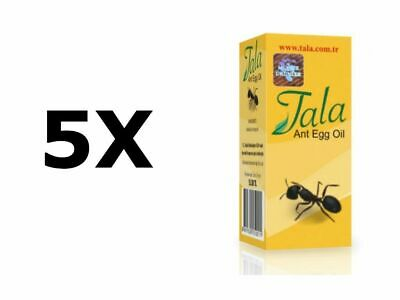 £19.80 • Buy 5 Bottles Of 20ml/0,67oz TALA Ant Egg Oil Permanent Hair Removal Longest End Use