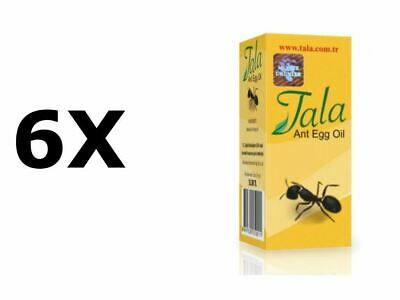 £21.22 • Buy 6 X 20ml/0,67oz Original TALA Ant Egg Oil Permanent Hair Removal Longest End Use