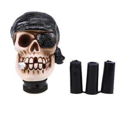AU25.60 • Buy 5/6 Speed Universal Car Skull Pirate Manual Gear Shift Knob Shifter Lever Stick