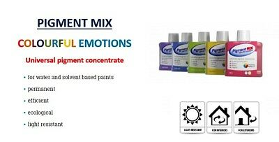 Pigment Mix Wall Emulsion Paint Colourant Tint Stain  Interior Exterior Inchem • 1.03£