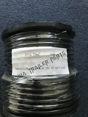 AU55 • Buy Cable 5 Core 30m Roll!perfect For Trailers
