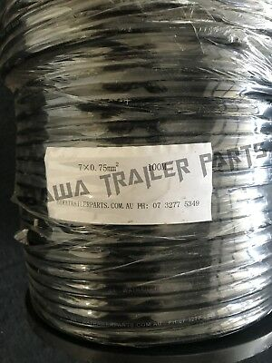 AU176 • Buy Cable 7 Core 100m Roll!perfect For Trailers