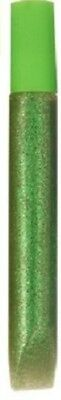 10ml Tube Of GREEN GLITTER GLUE With Spreader ARTS CRAFT • 1.99£