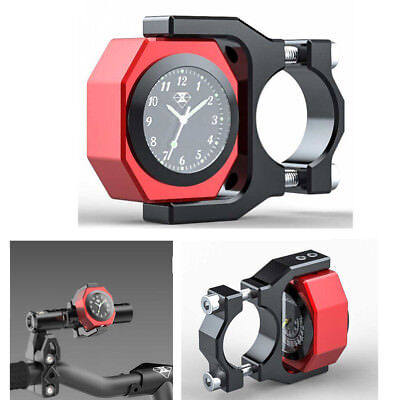 $24.71 • Buy Waterproof Luminous Temperature Watch For Motorcycle Bike 22-28mm Handlebar CNN