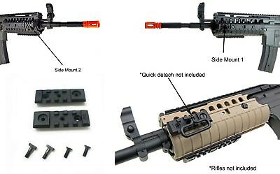 $8 • Buy 2 X JG Metal RIS Rail Integrated System M4 S Mount Attachment AEG Airsoft 2.5