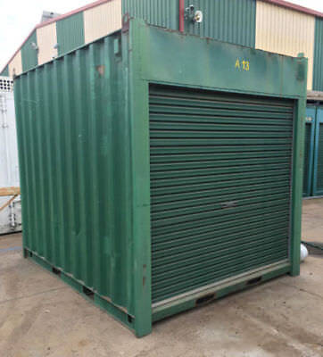 AU2499 • Buy USED 10ft / 3m Long 8'6 High Shipping Container / Portable Storage Shed