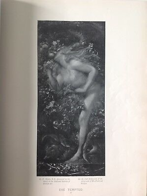 Eve Tempted, By G. F Watts, Antique 1898 Print, Religion, Arts • 9.95£