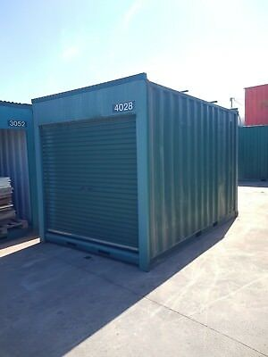 AU2999 • Buy USED 4m Long / 2.44m Wide 2.6m High Shipping Container / Portable Storage Shed