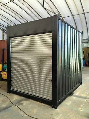 AU5499 • Buy REFURBISHED 10ft/3m Long 9'6 High Shipping Container/Portable Storage Shed