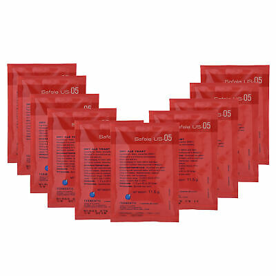 AU48.20 • Buy 10x Fermentis Safale US-05 Dry Brewing Yeast Ale Yeast 11.5g  Home Brew Sachets