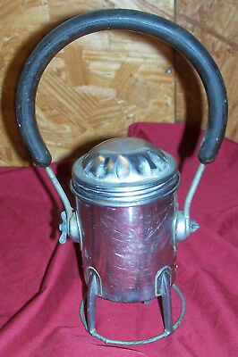 Old Conger Railroad Signal Lantern Train Railway Lamp Flashlight Light Vintage  • 24.23£
