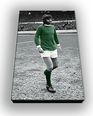 George Best - Northern Ireland - Wall Canvas Picture Print Wall Art 63cm X 40cm  • 20£