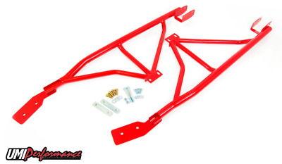 $519.99 • Buy UMI 93-02 Camaro Firebird 3-Point Subframe Connector Bolt In RED 2004