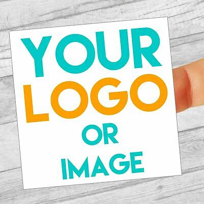 £2.99 • Buy Custom Logo Labels/stickers 80mm Square Personalised Business/Company Name