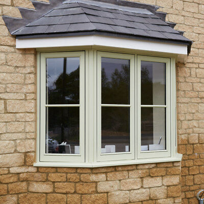 £739 • Buy NEW!!! Made To Measure Traditional Wooden Windows £739!!! Ready For Installation