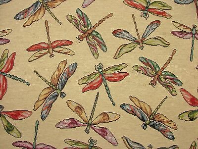 Dragonfly  Animal Tapestry  Designer Fabric Upholstery Curtains Cushions Throws • 12.99£