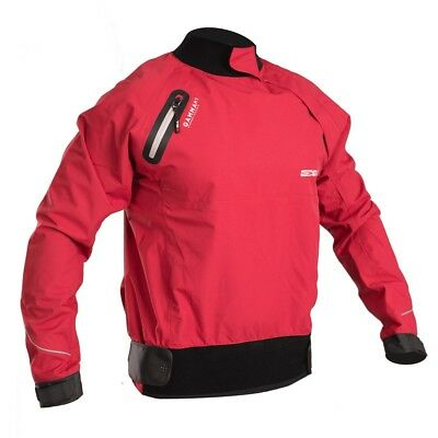 Gul Gamma Ht Spray Top Heat Taped Thermal Jacket Breathable Kayak Canoe Sail Red • 78.50£