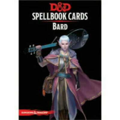 AU36.99 • Buy RPG - Dungeons And Dragons - Spellbook Cards Bard Deck NEW!