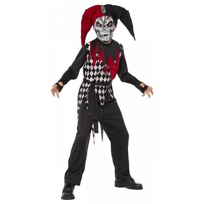 Halloween Costumes For Kids Scary.Kids Jester Costume