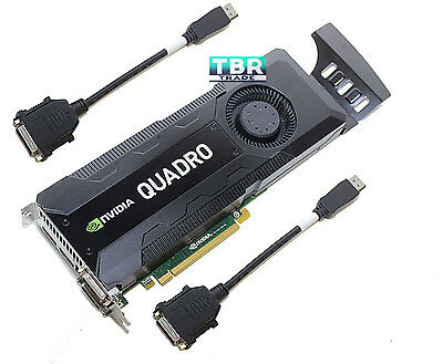 $ CDN504 • Buy HP NVidia Quadro K5000 4Gb GDDR5 C2J95AA GPU Graphics Video Card 701980-001