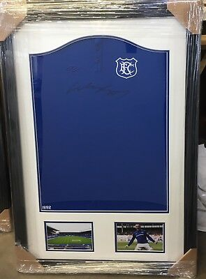 £199.99 • Buy Everton; Wayne Rooney Signed And Framed Everton 125 Year Limited Edition Shirt
